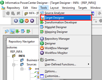 S-Square Systems | Mapping Creation in Informatica PowerCenter